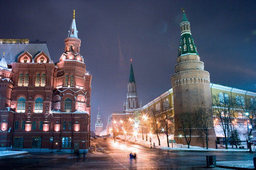Moscow, entrance into the Red Square