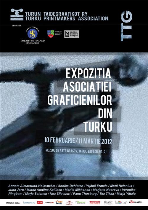 Afis Expozitia Asociatiei Graficienilor din Turku(2)