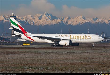 Emirates la Malpensa