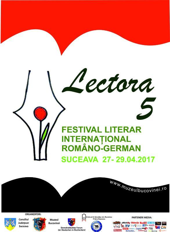 Festivalul literar Lectora 2017
