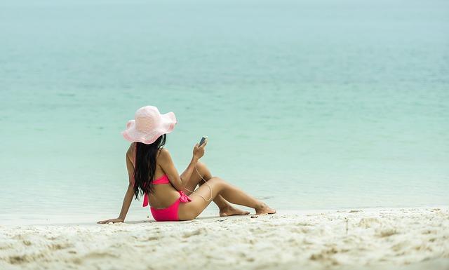 aplicatie pentru plaja